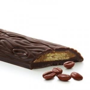 Ciocolata neagra belgiana cu cafea si vafa (20 grame), Cavalier