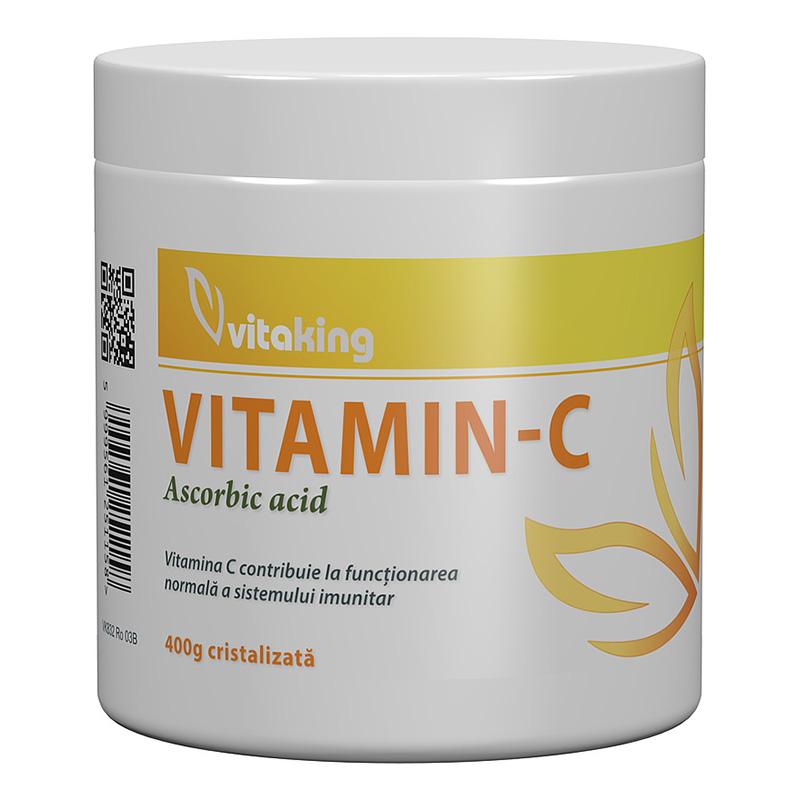 Vitamina C cristalizata (400 grame), Vitaking
