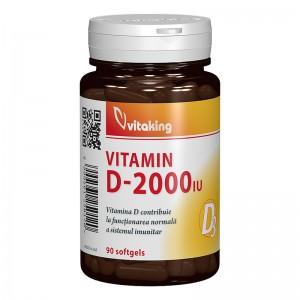 Vitamina D3 2000 UI (90 capsule), Vitaking