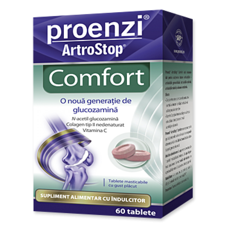 Promo Proenzi Artrostop Comfort (60 capsule)+ Proenzi artrop crema (100 ml), Walmark