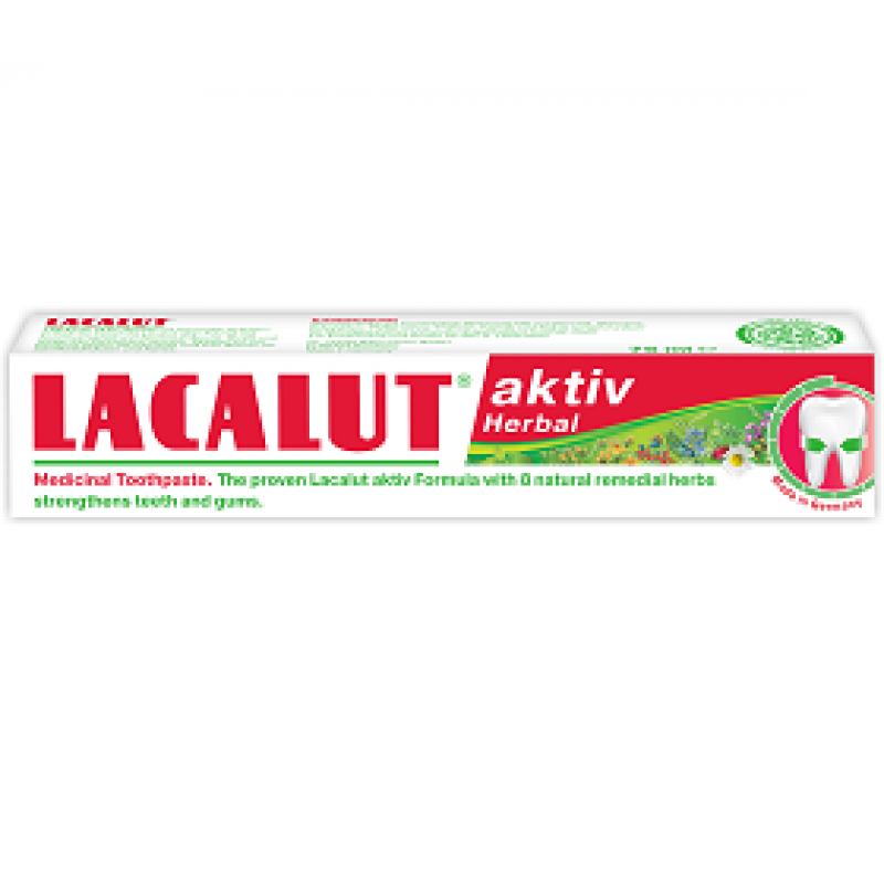 Lacalut Aktiv Herbal, Zdrovit