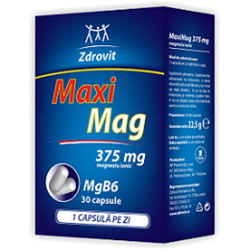 MaxiMag (30 capsule), Zdrovit