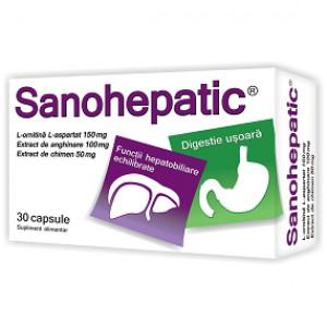 Sanohepatic (30 capsule), Zdrovit