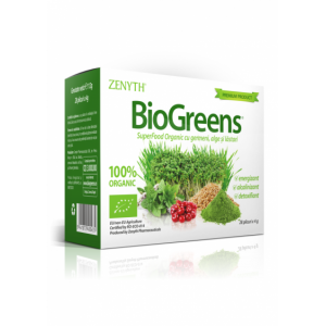 Biogreens (28 plicuri x 4g), Zenyth