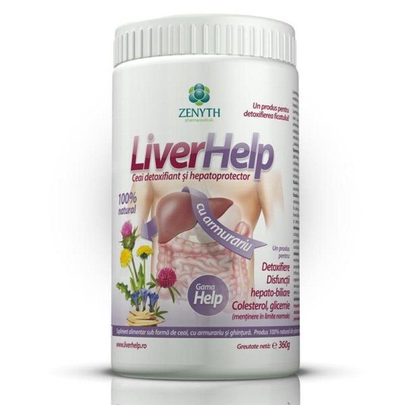 Liver Help (180 grame), Zenyth Pharmaceuticals