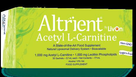 altrient alc acetyl l carnitine