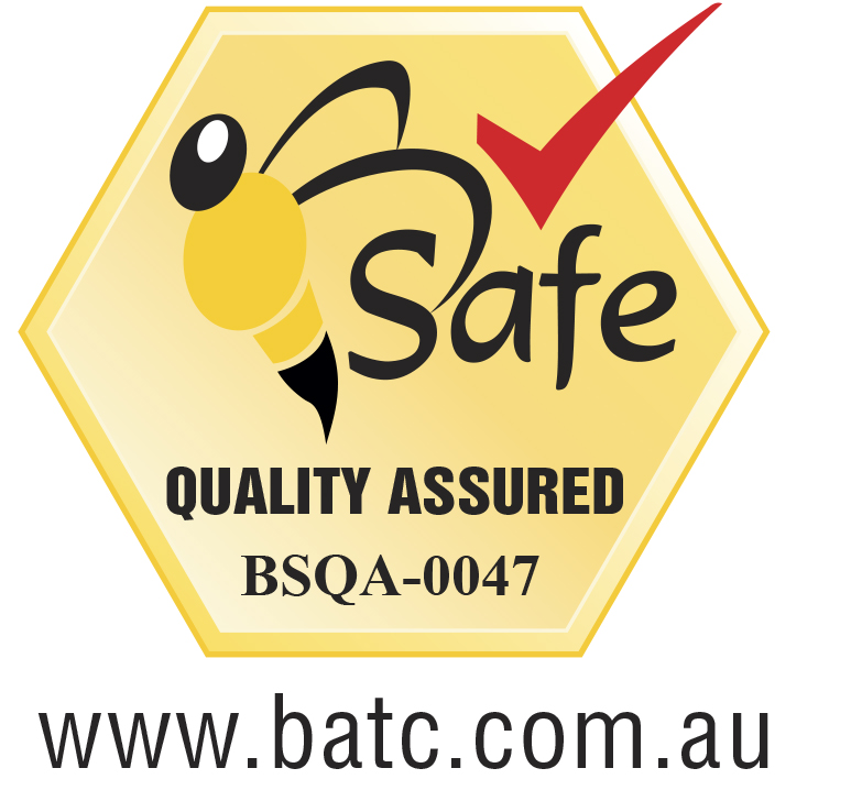 bee safe logo